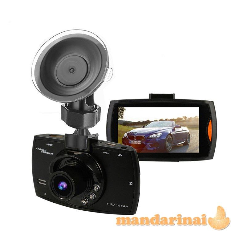 FULL HD vaizdo registratorius su naktiniu pašvietimu