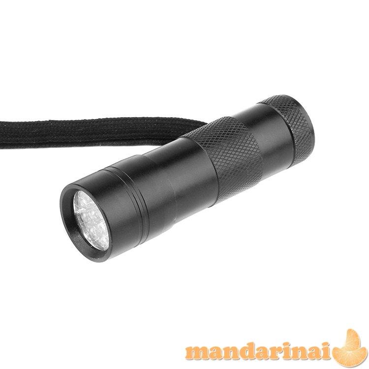 12 šviesos diodų UV spindulių prožektorius