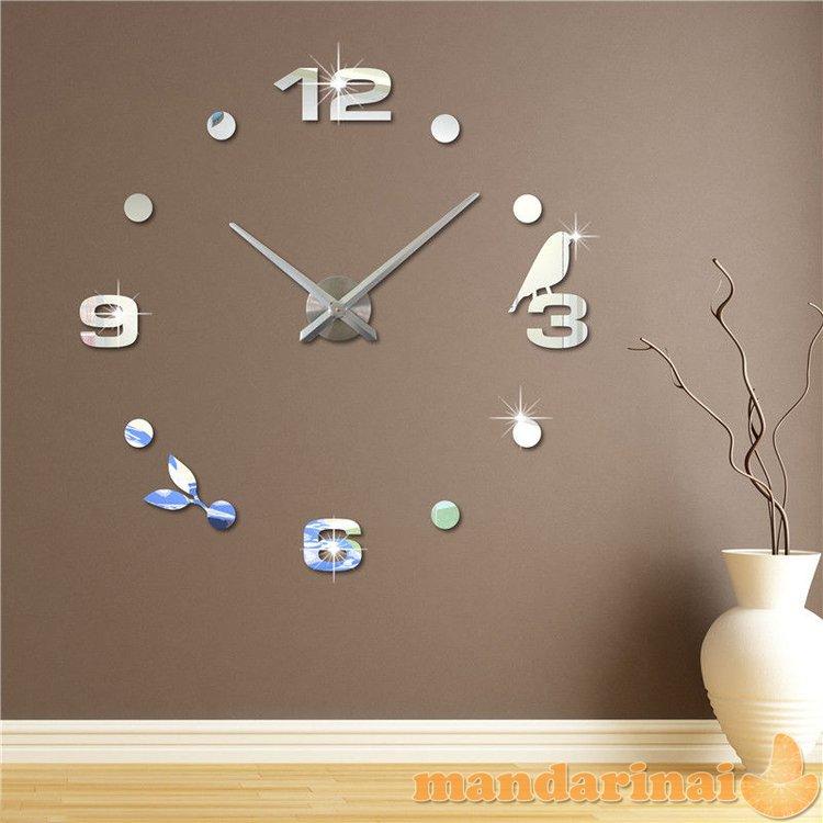 """3D sieninis laikrodis """"Paukštelis didysis"""""""