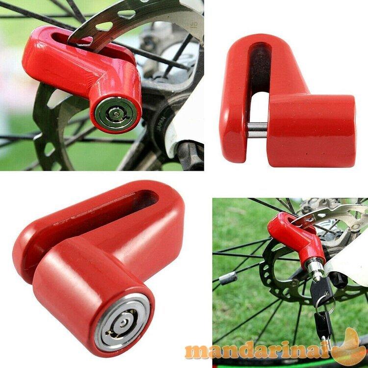 Patikimas užraktas dviračiams, mopedams ar motociklams