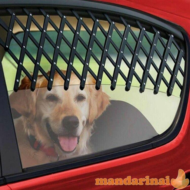 Automobilio lango grotelės šunims