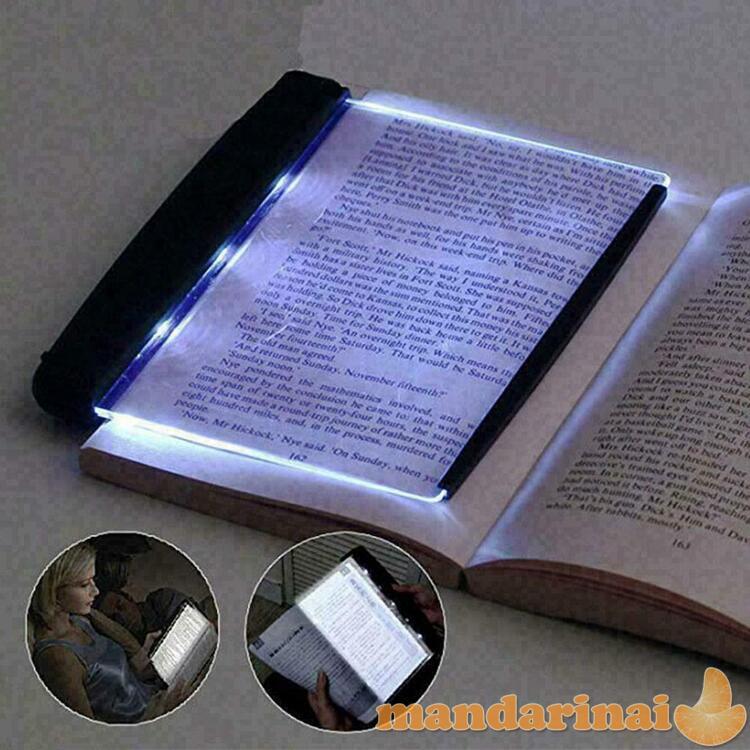 Nešiojamas LED skaitymo laikiklis