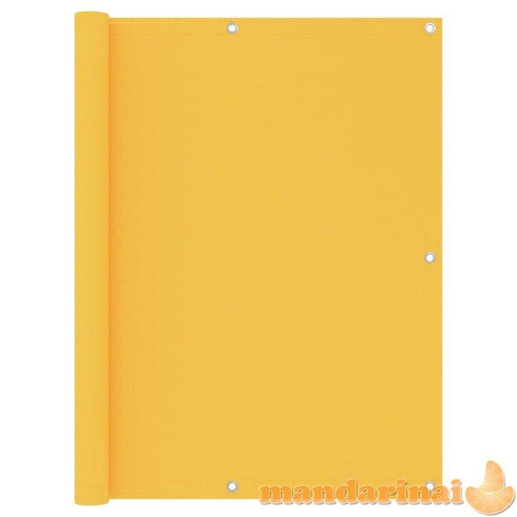 Balkono pertvara, geltonos spalvos, 120x500cm, oksfordo audinys