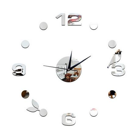 9.99 € Veidrodinis 3D sieninis laikrodis 1C