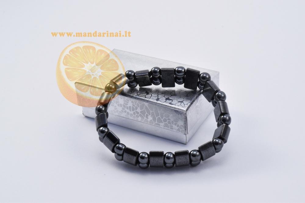 6.99 € Magnetinė hematito apyrankė