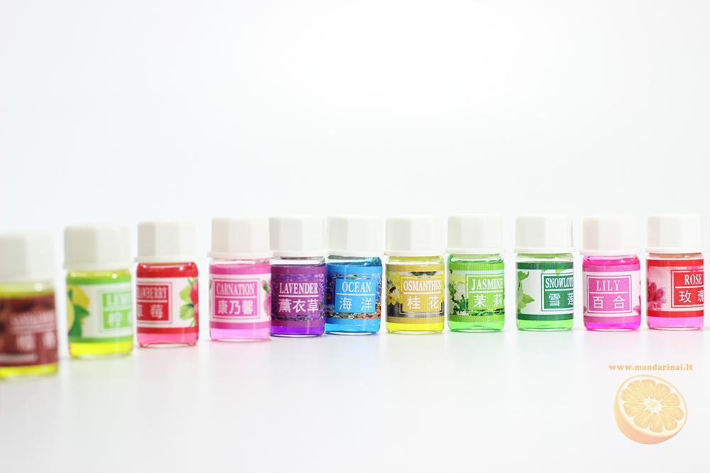 18 € 36 vnt. įvairių aromatų rinkinys