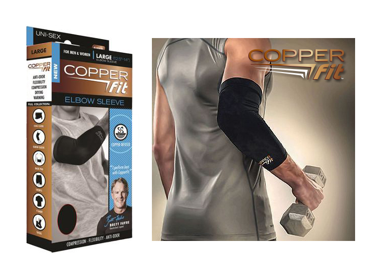 12.99 € Copper Fit kompresinė rankovė