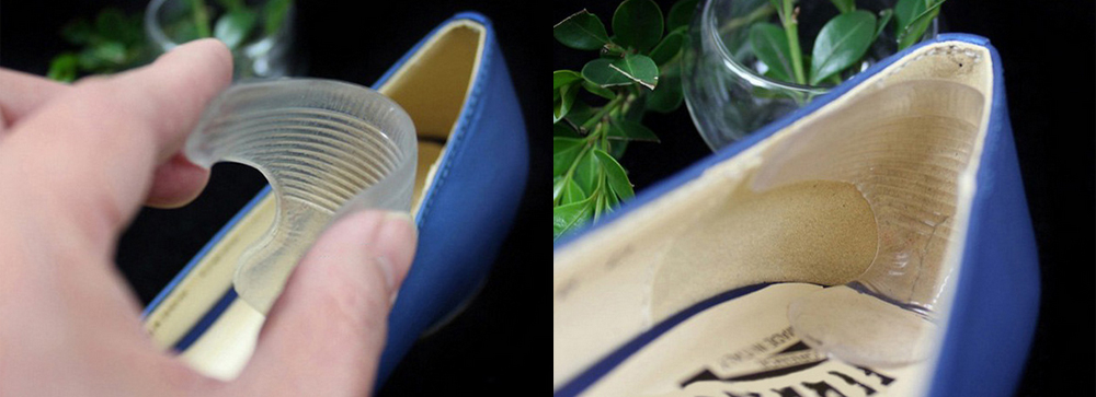 """3.99 € Priklijuojami silikoniniai įdėklai """"Hug my heels"""""""