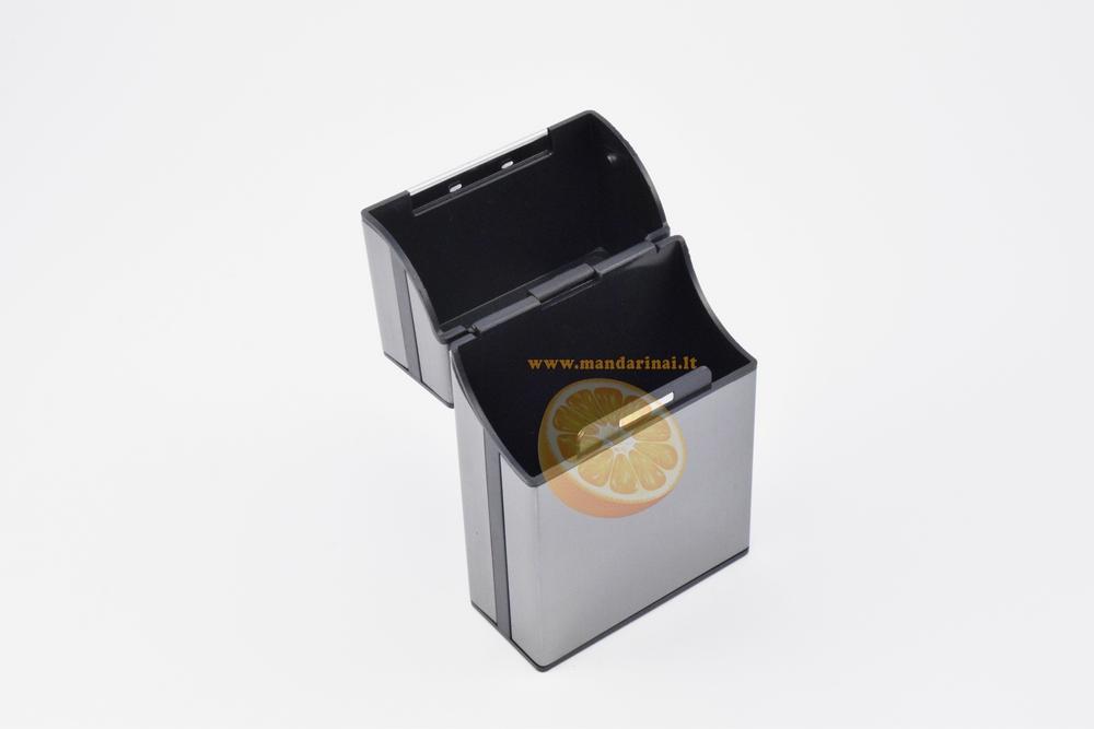 4.99 € tamsiai pilkas dėklas - porcigaras cigaretėms